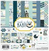 Rock-A-Bye Baby Boy Collection Pack - Carta Bella