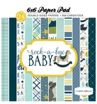 Rock-A-Bye Baby Boy 6x6 Paper Pad - Carta Bella