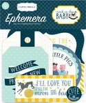 Rock-A-Bye Baby Boy Ephemera - Carta Bella