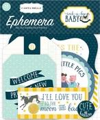 Rock-A-Bye Baby Boy Ephemera - Carta Bella