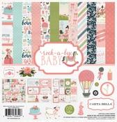Rock-A-Bye Baby Girl Collection Kit - Carta Bella