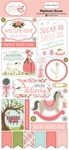 Rock-A-Bye Baby Girl Chipboard Pieces - Carta Bella