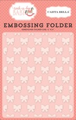 Petite Bows Embossing Folder - Carta Bella