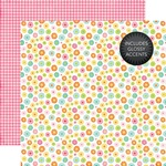 Blooming Flowers Glossy Accented Paper - Echo Park