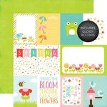 Journaling Cards Glossy Accented Paper - Echo Park