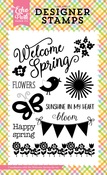Welcome Spring Stamp - Echo Park