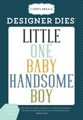 Handsome Little One Die Set - Carta Bella