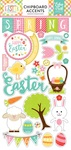 Celebrate Easter Chipboard Pieces - Echo Park