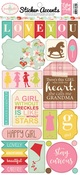 Granddaughter Sticker Sheet - Echo Park