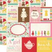 Journaling Card Paper - Granddaughter - Echo Park
