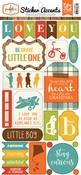 Paper Crafts > Grandson Sticker Sheet - Echo Park: A Cherry On Top