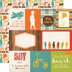 Journaling Card Paper - Grandson - Echo Park