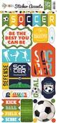 Soccer Sticker Sheet - Echo Park