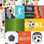 Journaling Card Paper - Soccer - Echo Park