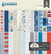 Seafarer 12 x 12 Paper Pad - Authentique