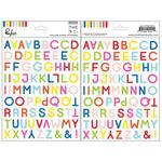 The Mix No 1 Vellum Stickers - Pinkfresh
