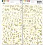 The Mix No 1 Foiled Stickers - Pinkfresh