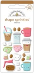 Latte Love Shape Sprinkles - Doodlebug