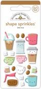 Latte Love Shape Sprinkles - Doodlebug