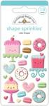 Cake Shoppe Shape Sprinkles - Doodlebug