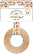 Coffee Break Washi Tape - Doodlebug