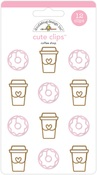 Coffee Shop Cute Clips - Doodlebug