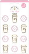 Coffee Shop Cute Clips - Doodlebug