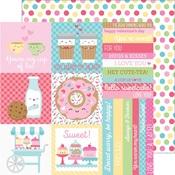 Cake Sprinkles Paper - Cream & Sugar - Doodlebug
