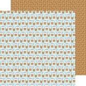 Coffee Break Paper - Cream & Sugar - Doodlebug