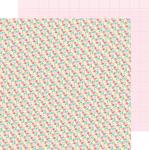 Bitsy Bouquet Paper - Cream & Sugar - Doodlebug