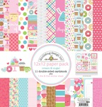 Cream & Sugar Paper Pack - Doodlebug