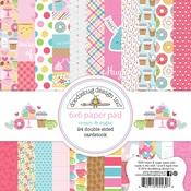 Cream & Sugar 6 x 6 Paper Pad - Doodlebug