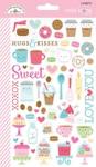Cream & Sugar Mini Icon Sticker - Doodlebug