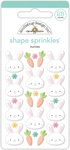 Bunnies Shape Sprinkles - Doodlebug