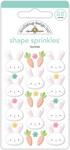 Bunnies Shape Sprinkles - Doodlebug
