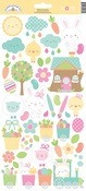 Easter Express Icon Stickers - Doodlebug