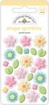 Pastel Posies Shape Sprinkles - Doodlebug