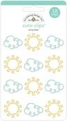 Sunny Skies Cute Clips - Doodlebug