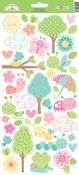 Spring Things Icon Stickers - Doodlebug