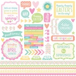 Spring Things This & That Sticker Sheet - Doodlebug