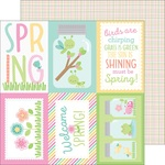 Butterfly Net Paper - Spring Things - Doodlebug