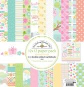 Spring Things 12 x 12 Paper Pack - Doodlebug