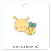 Honey Bee Enamel Pin - Doodlebug - PRE ORDER