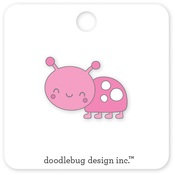 Little Lady Enamel Pin - Doodlebug