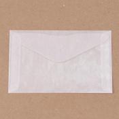 """Glassine Envelopes, 3.5"""" x 6"""", 8/pk"""