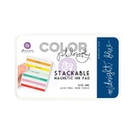 Midnight Blue Color Philosophy Magnetic Stackable Ink Pad - Prima