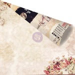 Deeply In Love Paper - Love Clippings - Prima