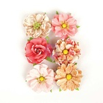 Together Flowers - Love Clippings - Prima