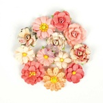 You Are My World Flowers - Love Clippings - Prima