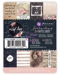 Wild & Free 3 x 4 Journaling Cards - Prima